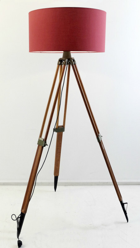 Kern aarau Surveyor Tripod Floor Lamp
