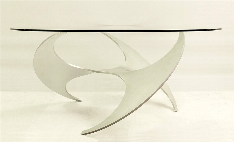 Knut Hesterberg Propeller Coffee Table for Ronald Schmitt
