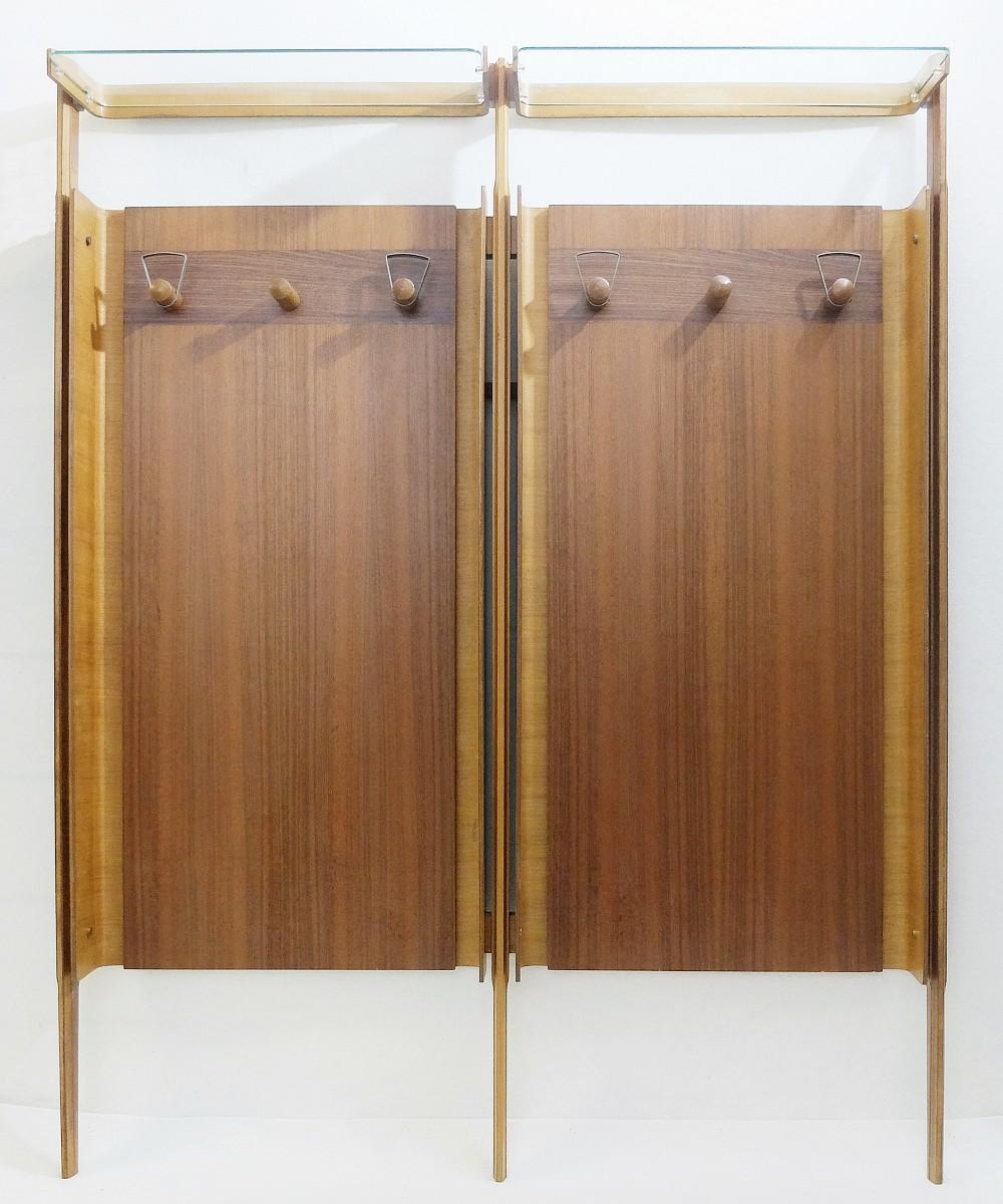 baumhaus wall hallway oak rack mobel mounted furniture coat