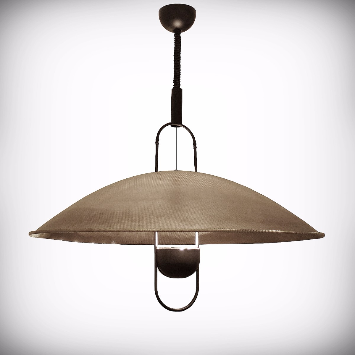 marlowe nickel cm pendant brass white artisan dome mango iron industrial wood and dassie lamp product