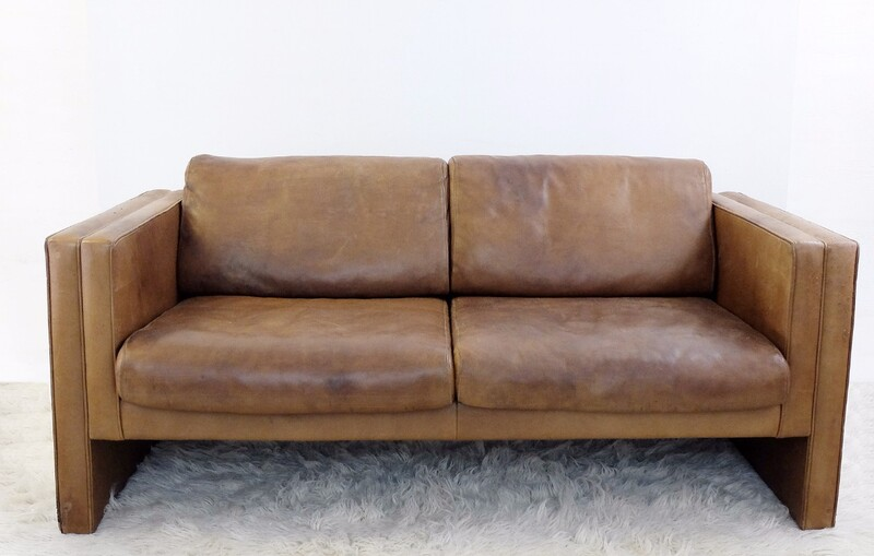 Leather Sofa By Walter Knoll