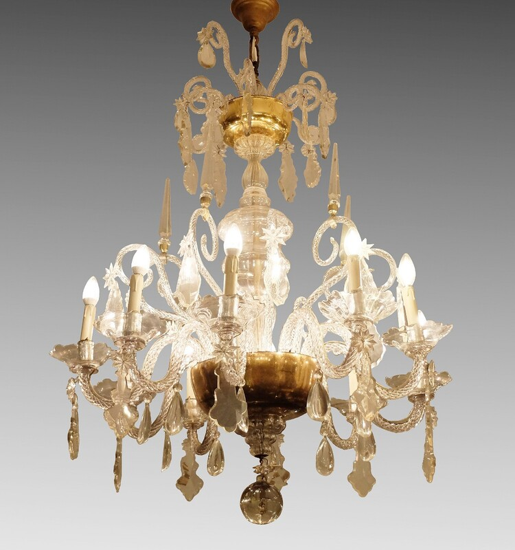 Liège Glass Chandelier