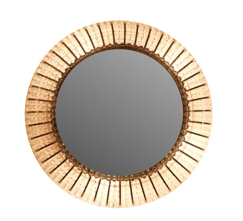 light round mirror