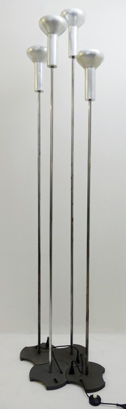 Model 1074 floor lamps by Gino Sarfatti for arteluce, 1950, set of 4