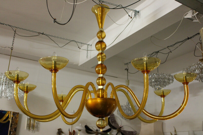 Murano chandelier - model inspired from the 1970ties