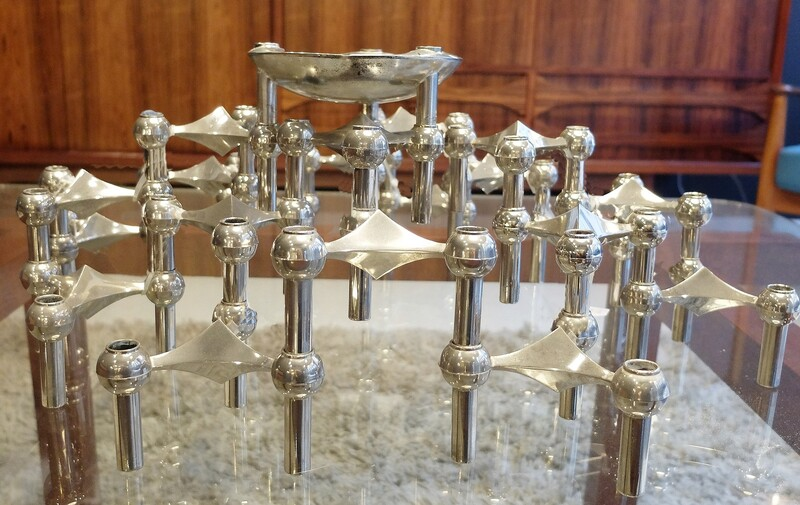 Nagel Stacking 21 Candlesticks