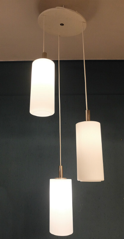 Opaline ceiling Light - 2 available