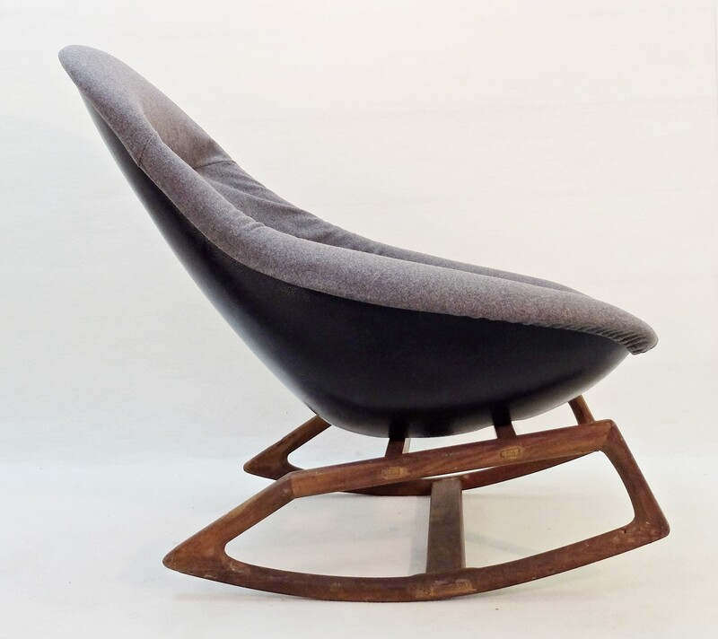 Organic Gemini Rocking Chair by Walter S. Chenery for Lurashell