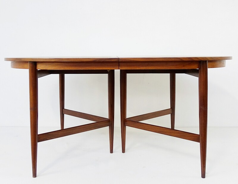 Oval Teak Dining Table - extension not available