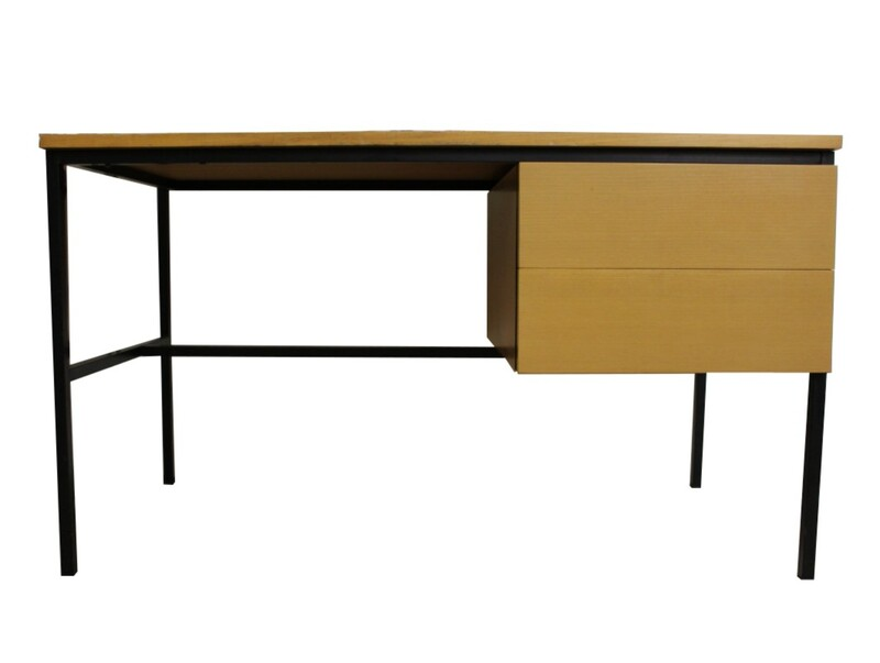 P. Paulin desk 50' + chair, CH172