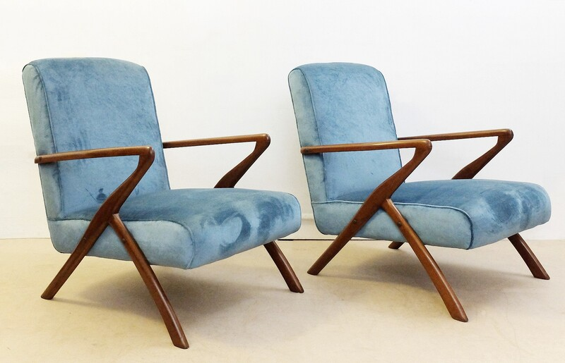 Pair of armchairs in the syle of