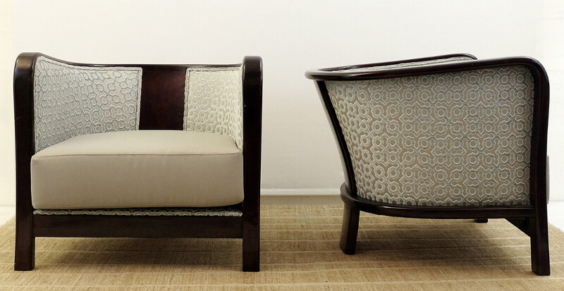Pair of armchairs - Vittorio Valabrega