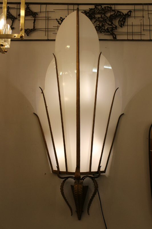 Pair of italian wall lamps