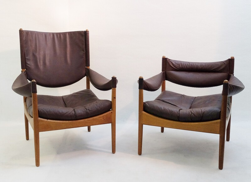 Pair of Kristian Vedel 'Modus' armchairs