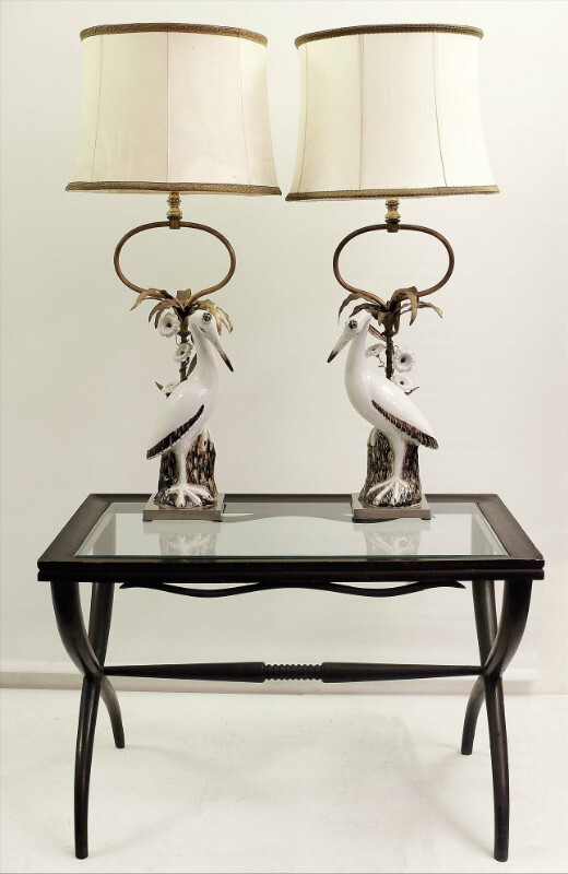 Pair Of Mangani Lamps