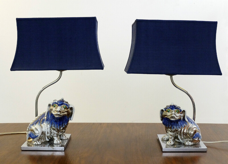 Pair Of Mangani Lamps - C. 1970