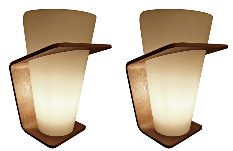 Pair of  NX41 Sconces By Louis Christiaan Kalff For Philips 1954