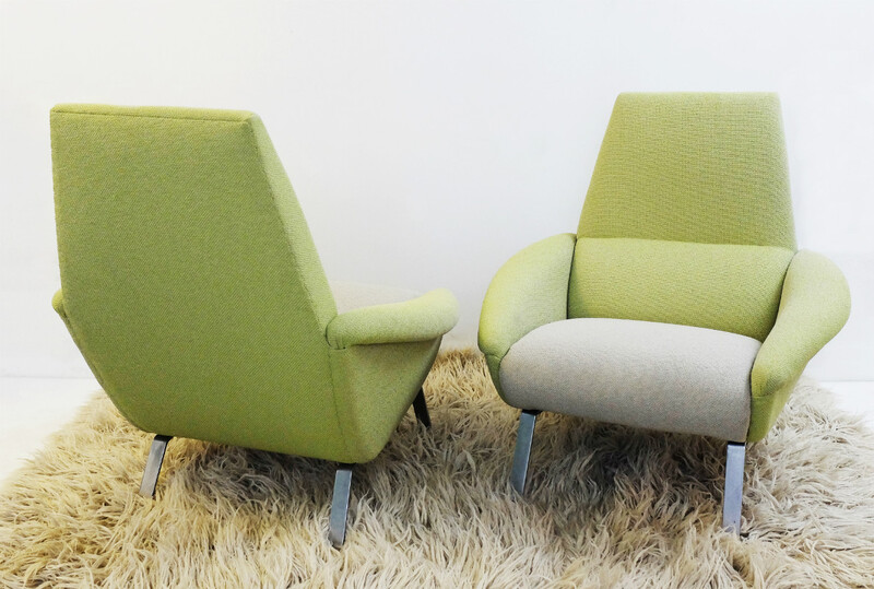 Pair Of Sabena Armchairs
