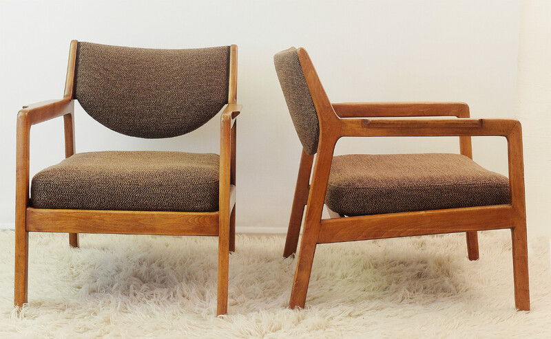 Pair of scandinavian armchairs