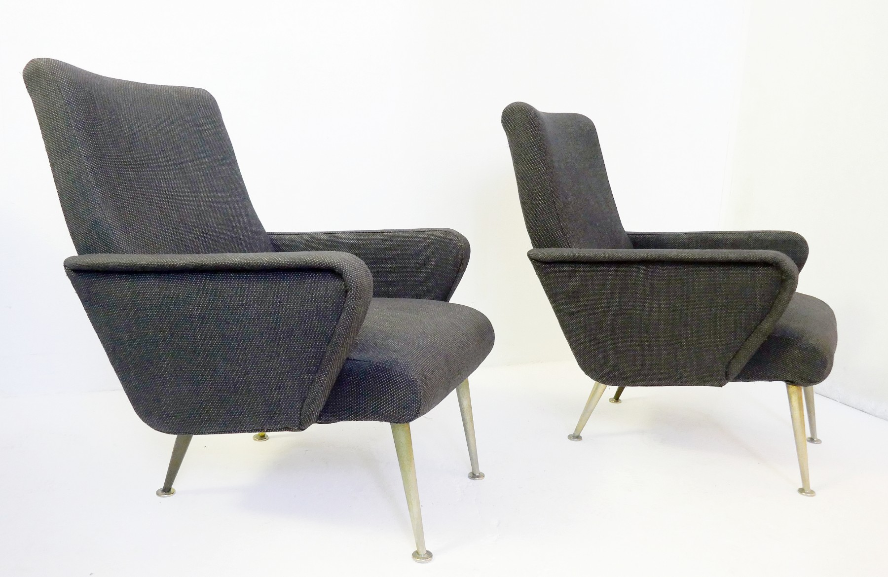Pair Of Small Italian Armchairs Via Antica Recent Added Items