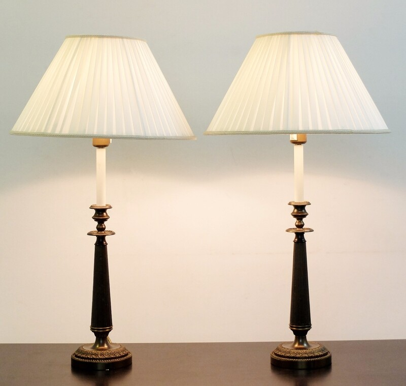 Pair of table lamps - several pairs available