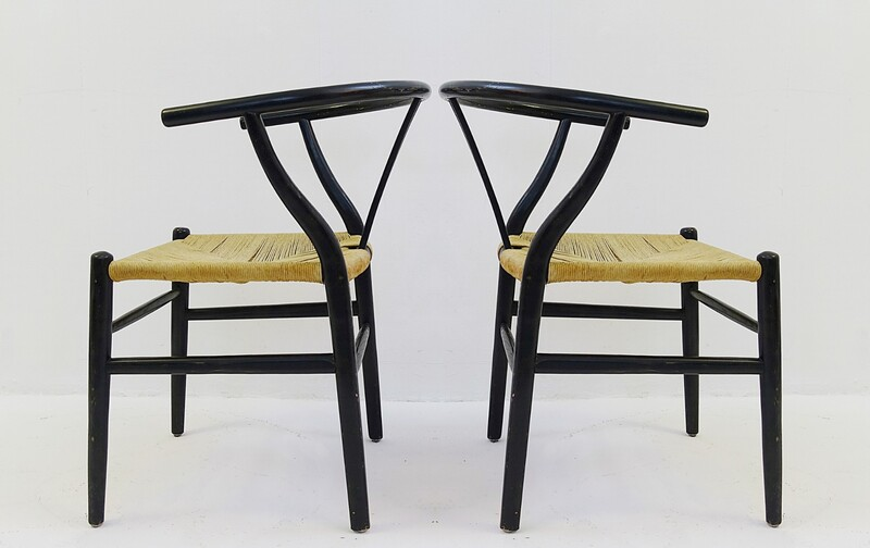 Pair of  Wegner CH24 Wishbone Chair for Carl Hansen & Søn