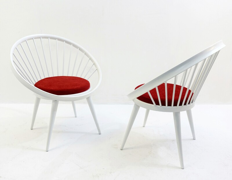 Pair of Yngve Ekstrom armchair