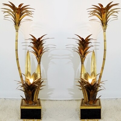 Palm Tree Floor Lamps