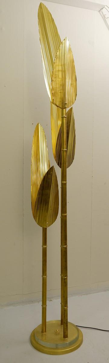 Palm Tree Gold Floor Lamp Via Antica Recent Added Items European Antiques Decorative
