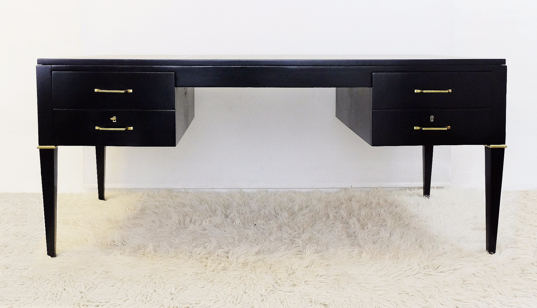 partners desk by de coene freres   desk table   furniture