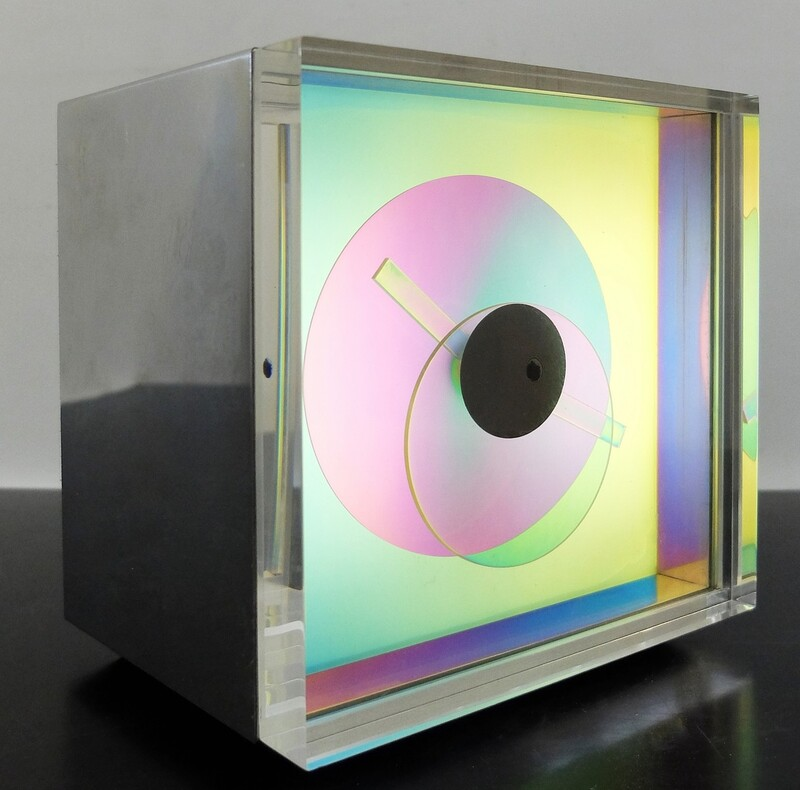 Prisma Clock Designed by Jay Kirsch and James Hamilton - 1976