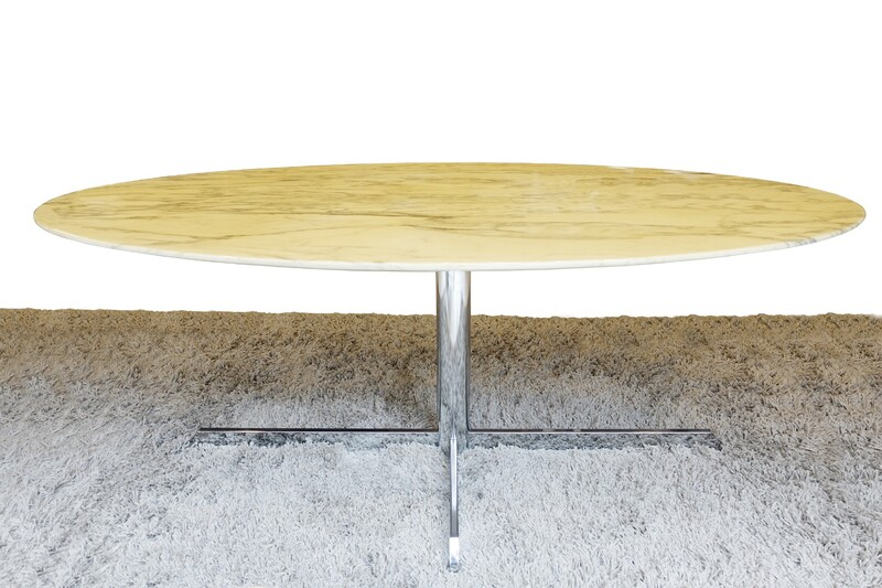 Roche Bobois marble dining table - 1980s