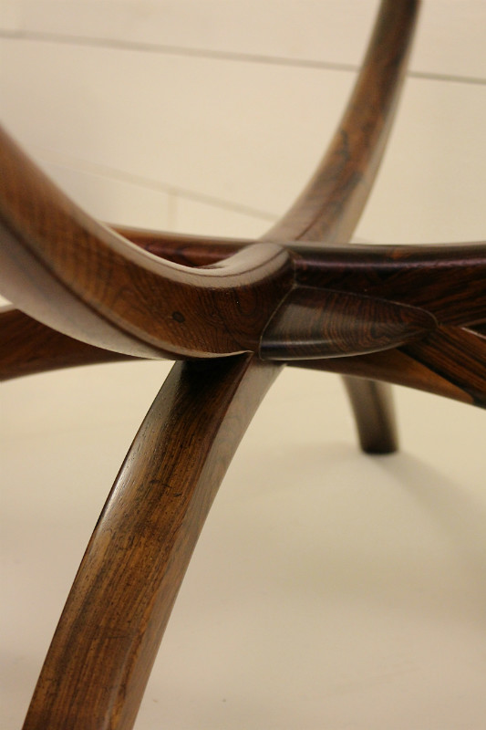 Rosewood Coffee Table Attributed To Vladimir Kagan Desk Table Furniture Via Antica