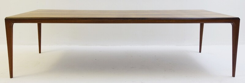 Rosewood Coffee Table by Johannes Anderson, Denmark, circa 1960