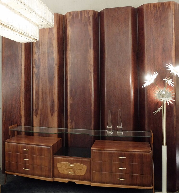 rosewood curved wall panels - Large Quantity Available
