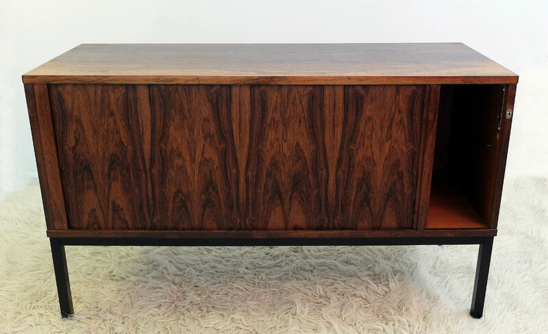 Rosewood sideboard with bureau function