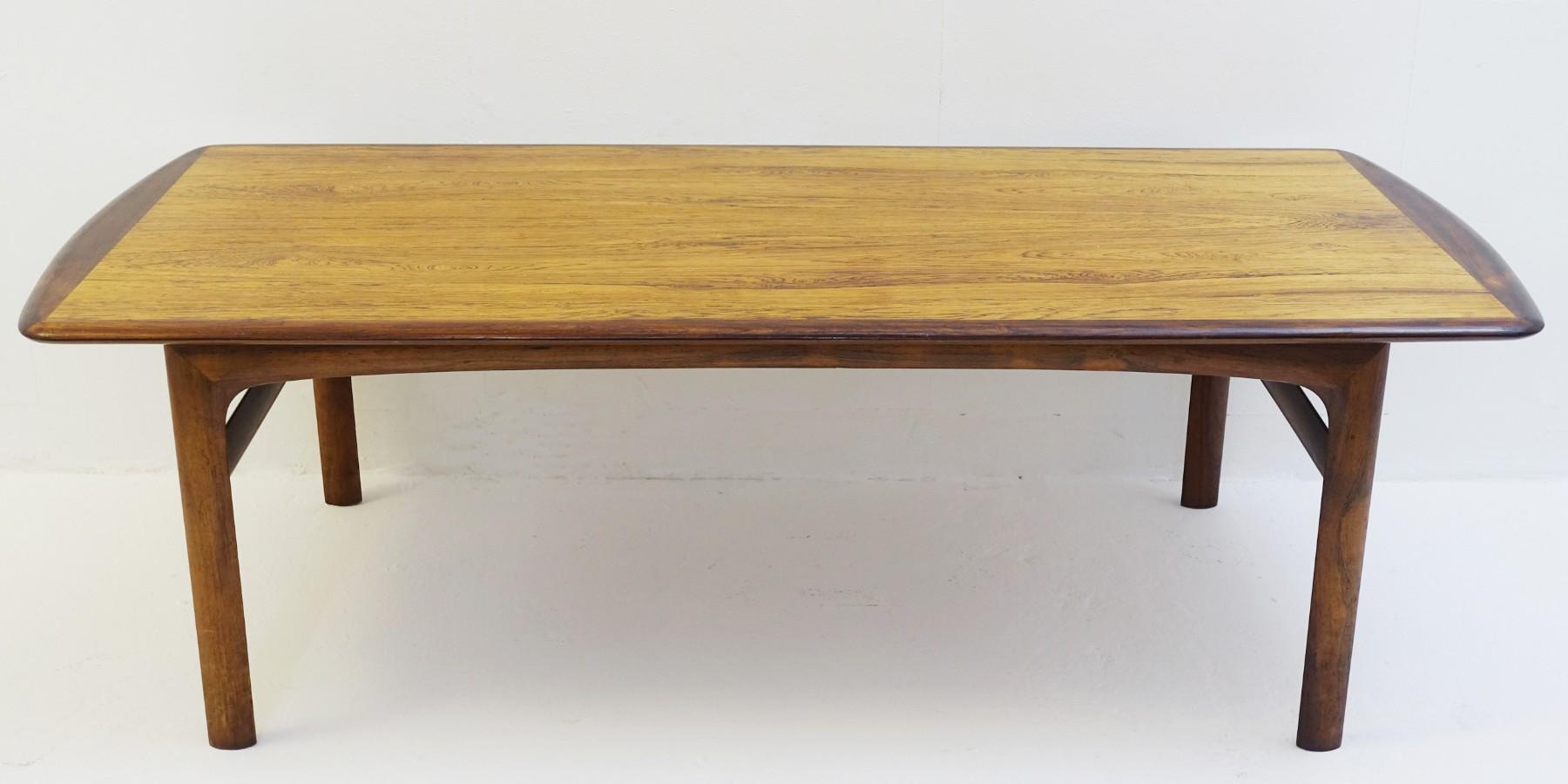 Scandinavian Rosewood Coffee Table. Ref.: