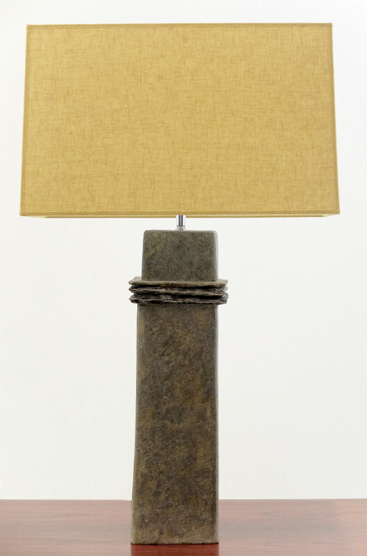Slate table lamp - Drimmer