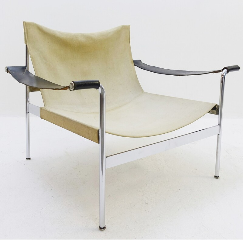 """sling"" lounge chair by Hans Könecke for Tecta - 1960's"