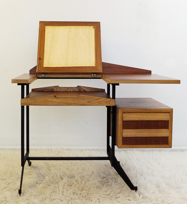 Small Italian Writing Desk with Drawers