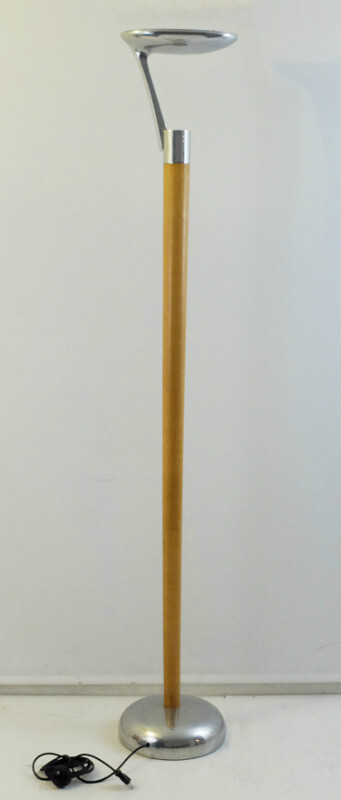 Spoon floor lamp - Adatte Design - Beech&Aluminum