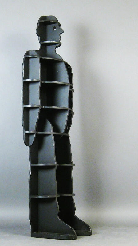 Susi & Ueli Berger, shelf/standing shelf model Fächermann for Röthlisberger
