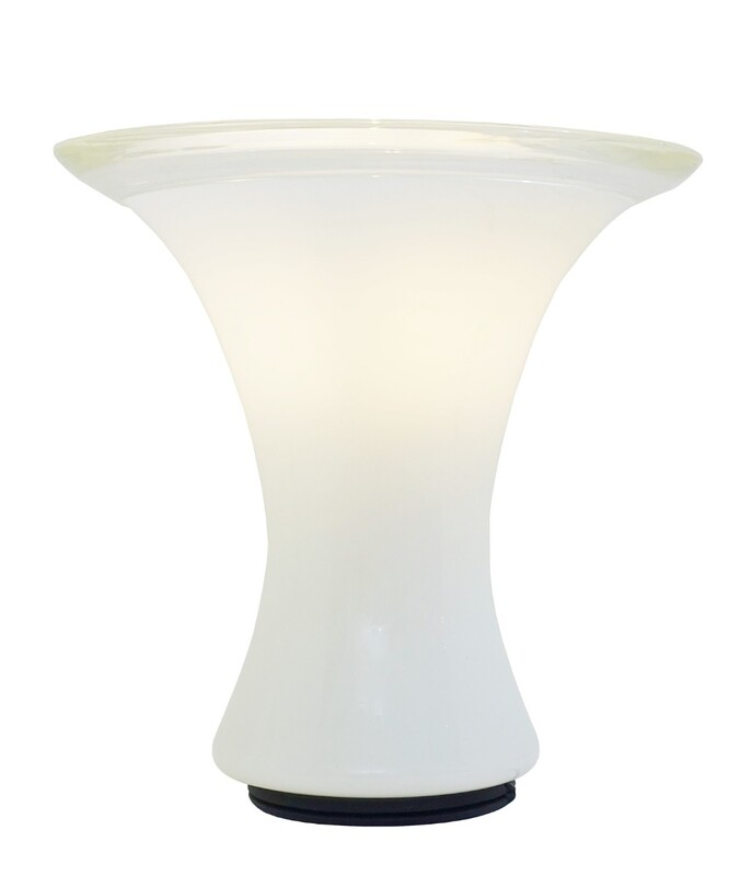 Table Lamp In Murano Glass, Leucos, Italy 1960'S