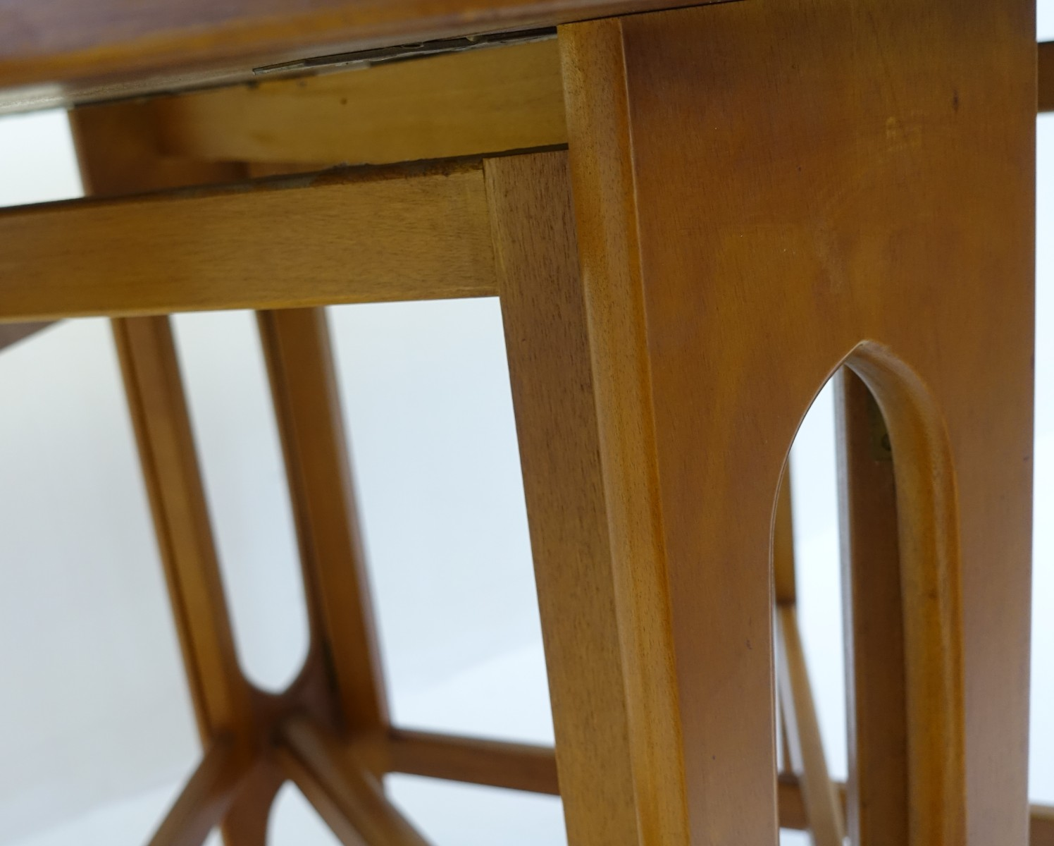 Wondrous Teak And Beech Dining Table By Bendt Winge For Klepp Mobel Customarchery Wood Chair Design Ideas Customarcherynet