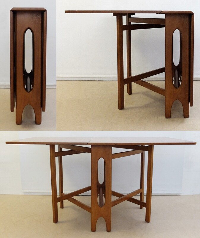Teak and beech dining table by Bengt WING for Klepp Mobel from the 60s.