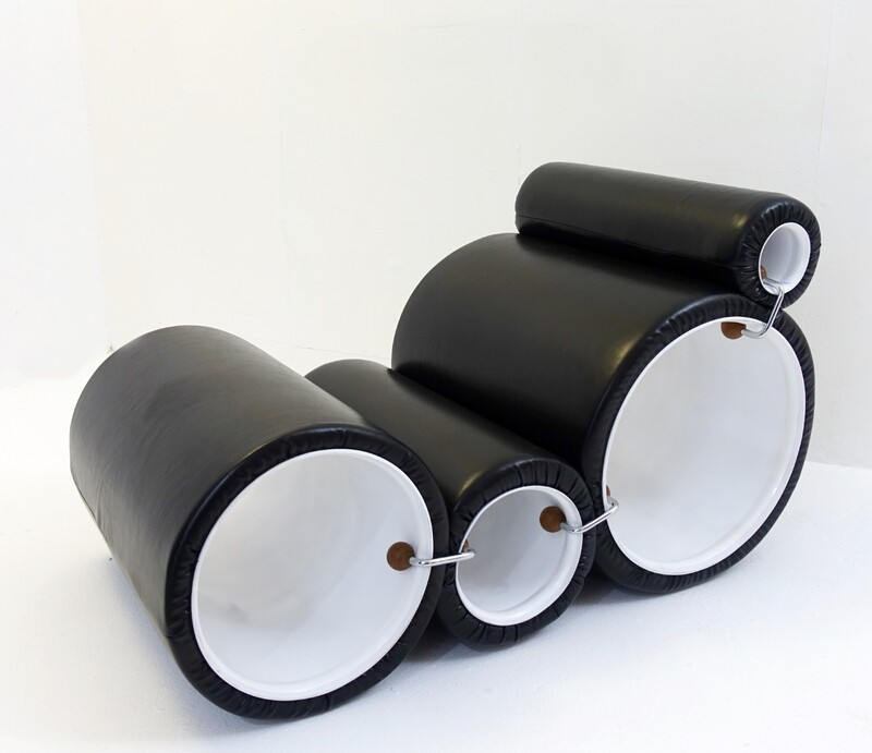 The Tube Chair by joe Colombo