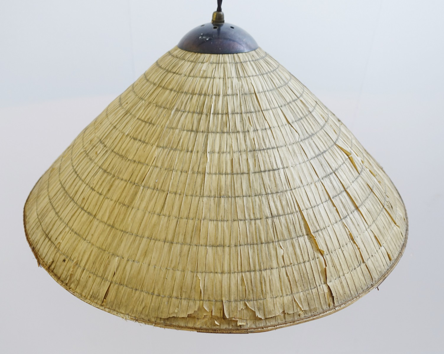 Tree branch floor lamp with raffia lampshade via antica recent tree branch floor lamp with raffia lampshade mozeypictures Gallery