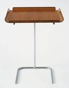 Vitra ~ Tray Table ~ George Nelson ~ Maple/Chrome