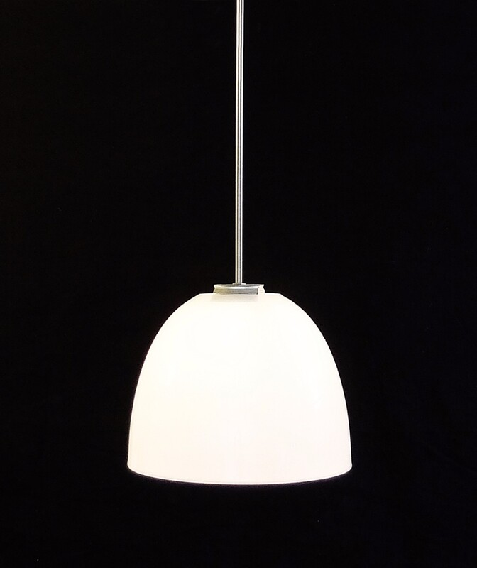White Opaline Suspension - 7 Available