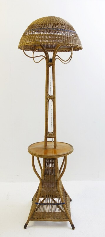 Wicker Floor Lamp